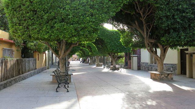 Downtown Loreto, BCS, an über-cool Baja town.