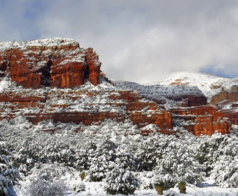 Christmas Morning in Sedona