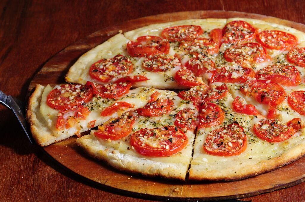 Inicio  Pizza Vegana  Libre de Gluten  Sin Colesterol