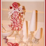 Diy Candy Cane Topiary Trees Pizzazzerie
