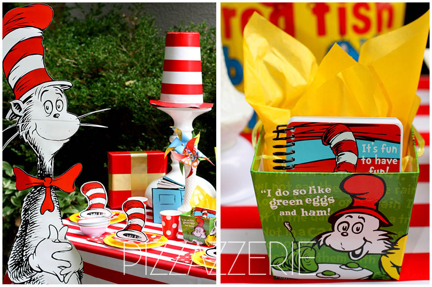 dr seuss birthday party on a budget