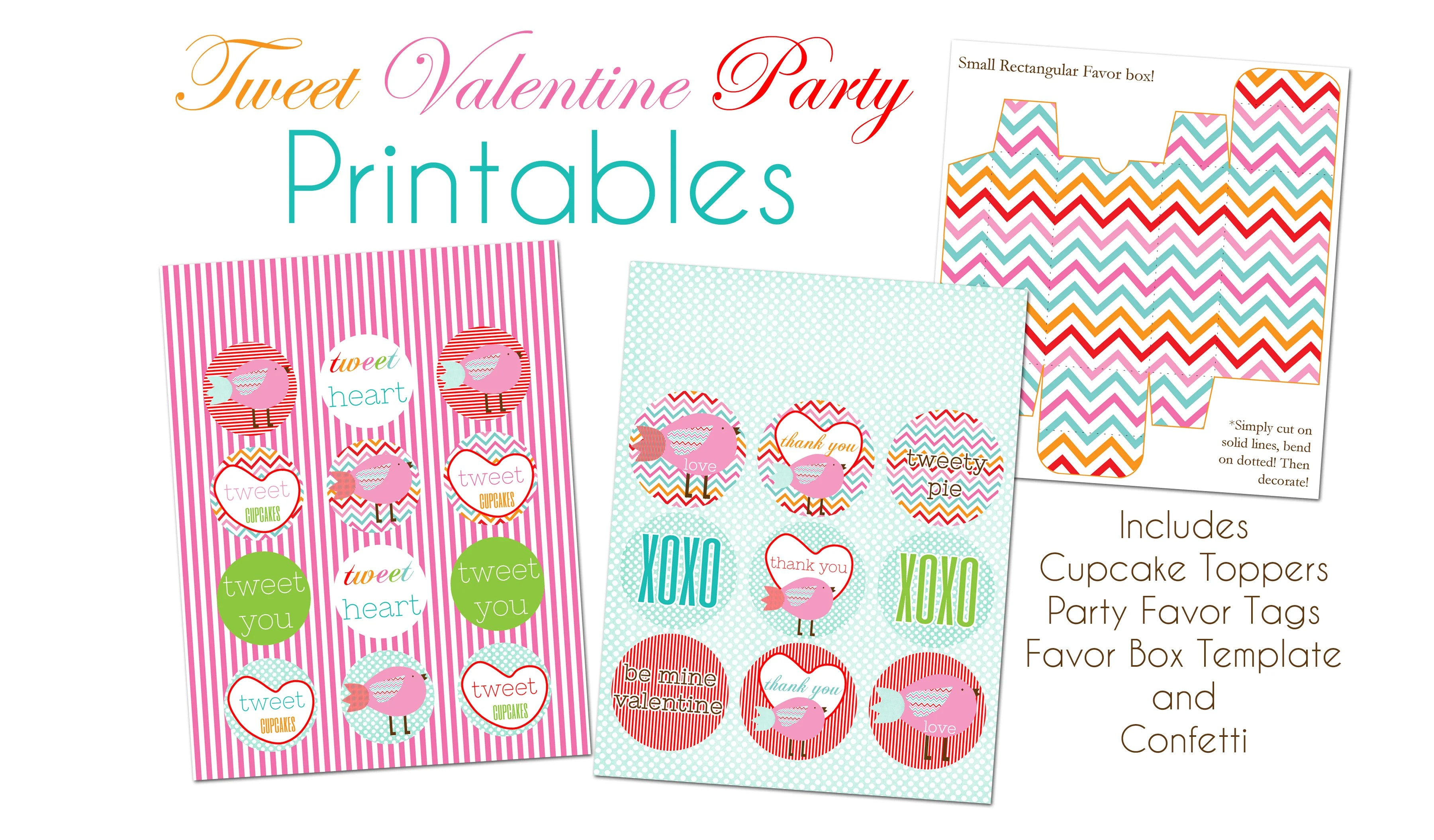 Free Tweet Valentine S Day Printables