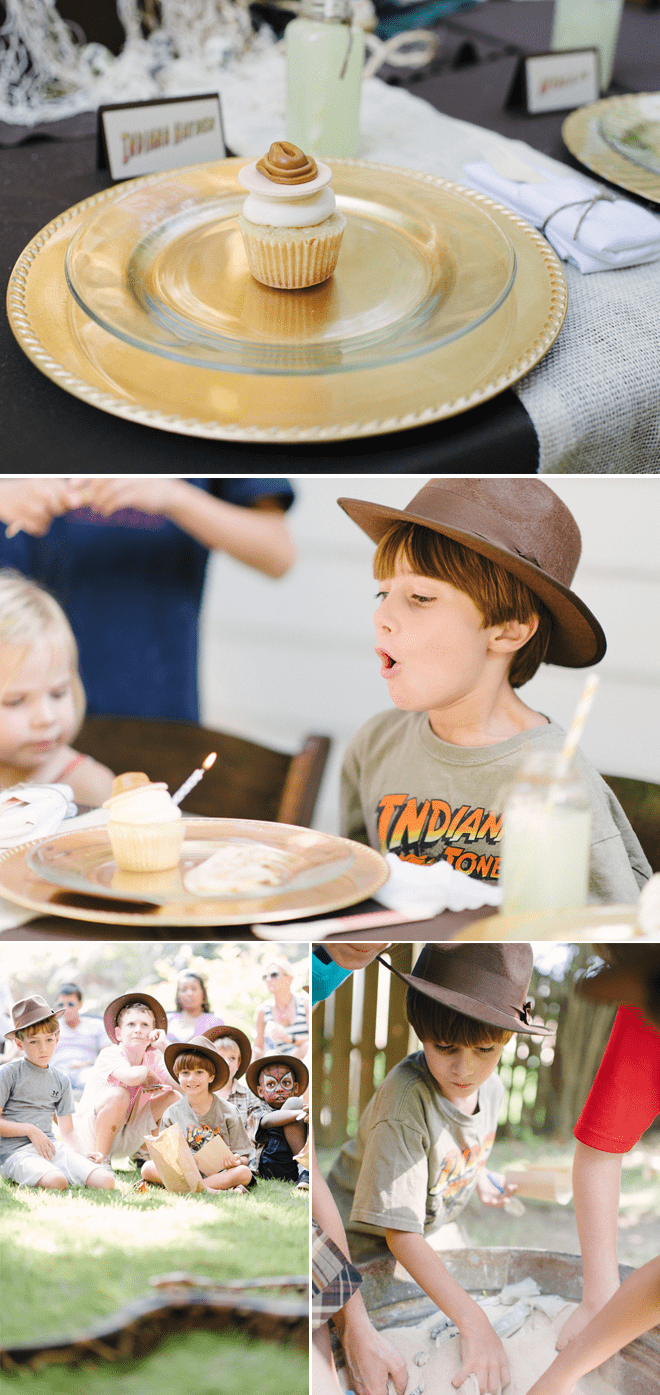 kitchen aid mixers wooden trash bin for indiana jones birthday party! | pizzazzerie