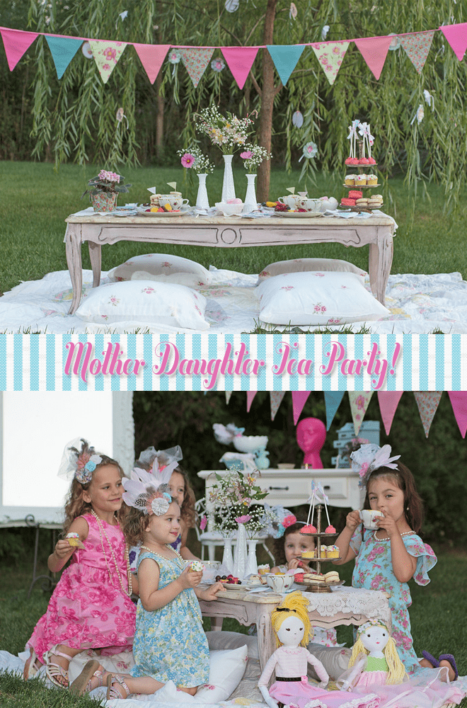 Mother Daughter Tea Party Pizzazzerie