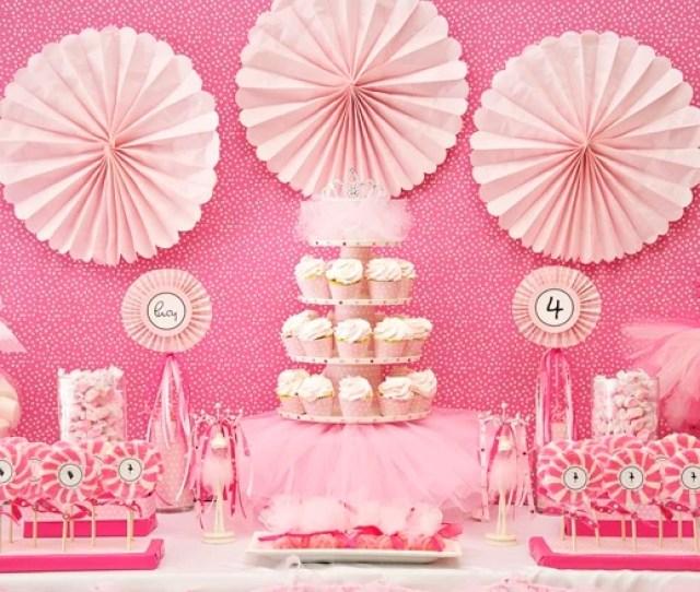 Pink Ballerina Party On Pizzazzerie Com Ballerina Party