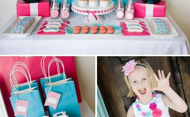 Top 10 Girl S Birthday Party Themes Pizzazzerie