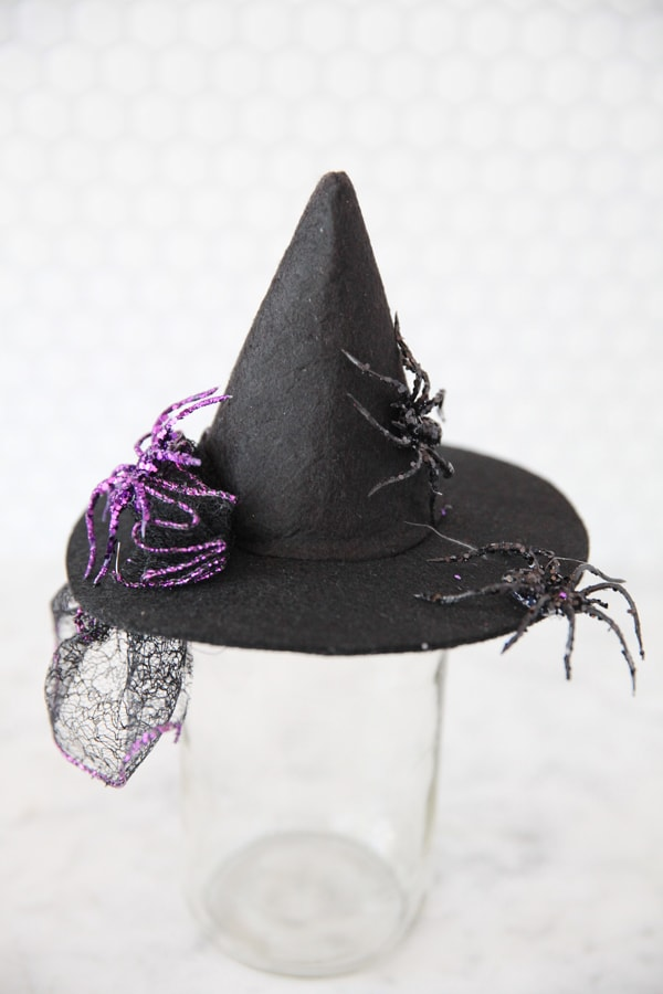 DIY Witch Fascinator Hats  Pizzazzerie