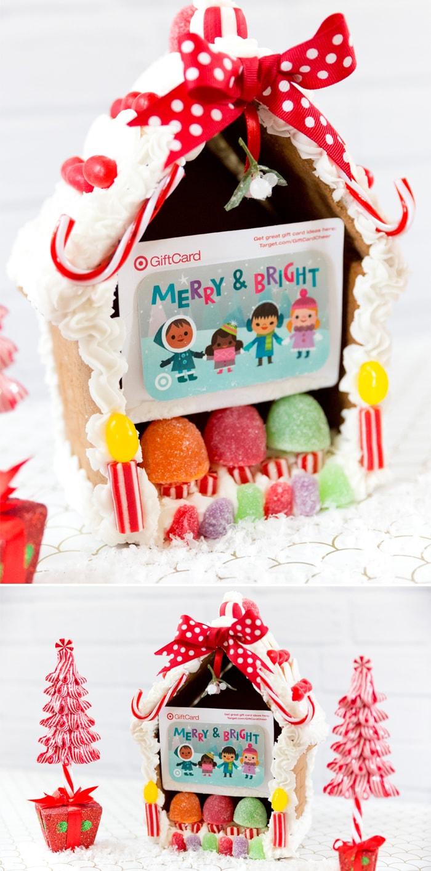 Creative Gift Card Ideas Gingerbread Houses