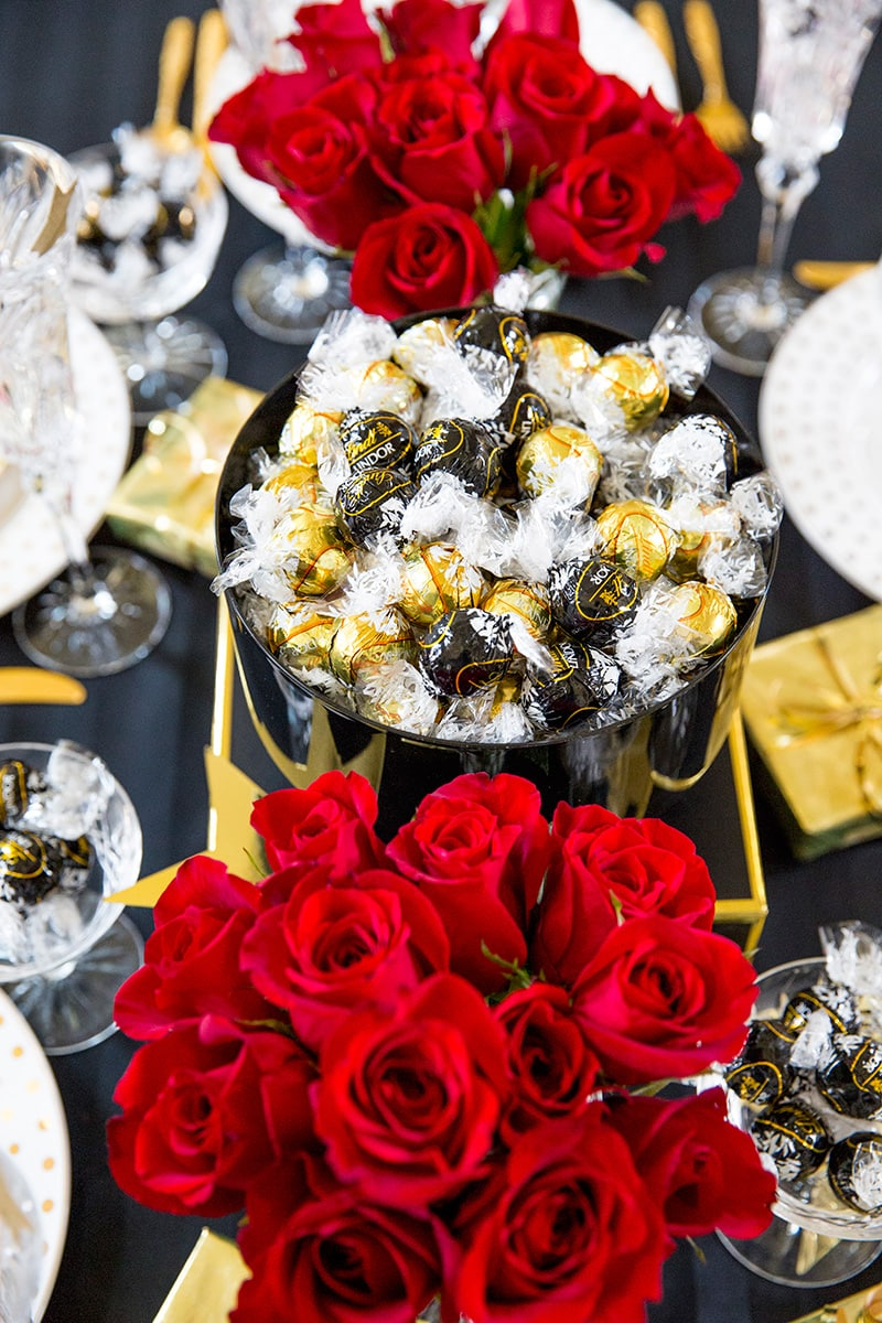 Golden Globes Party Tablescape  Pizzazzerie