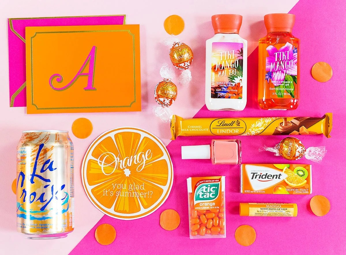 Orange You Glad It S Summer T Idea