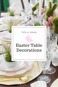 Easter Table Decorations & Place Setting Ideas!