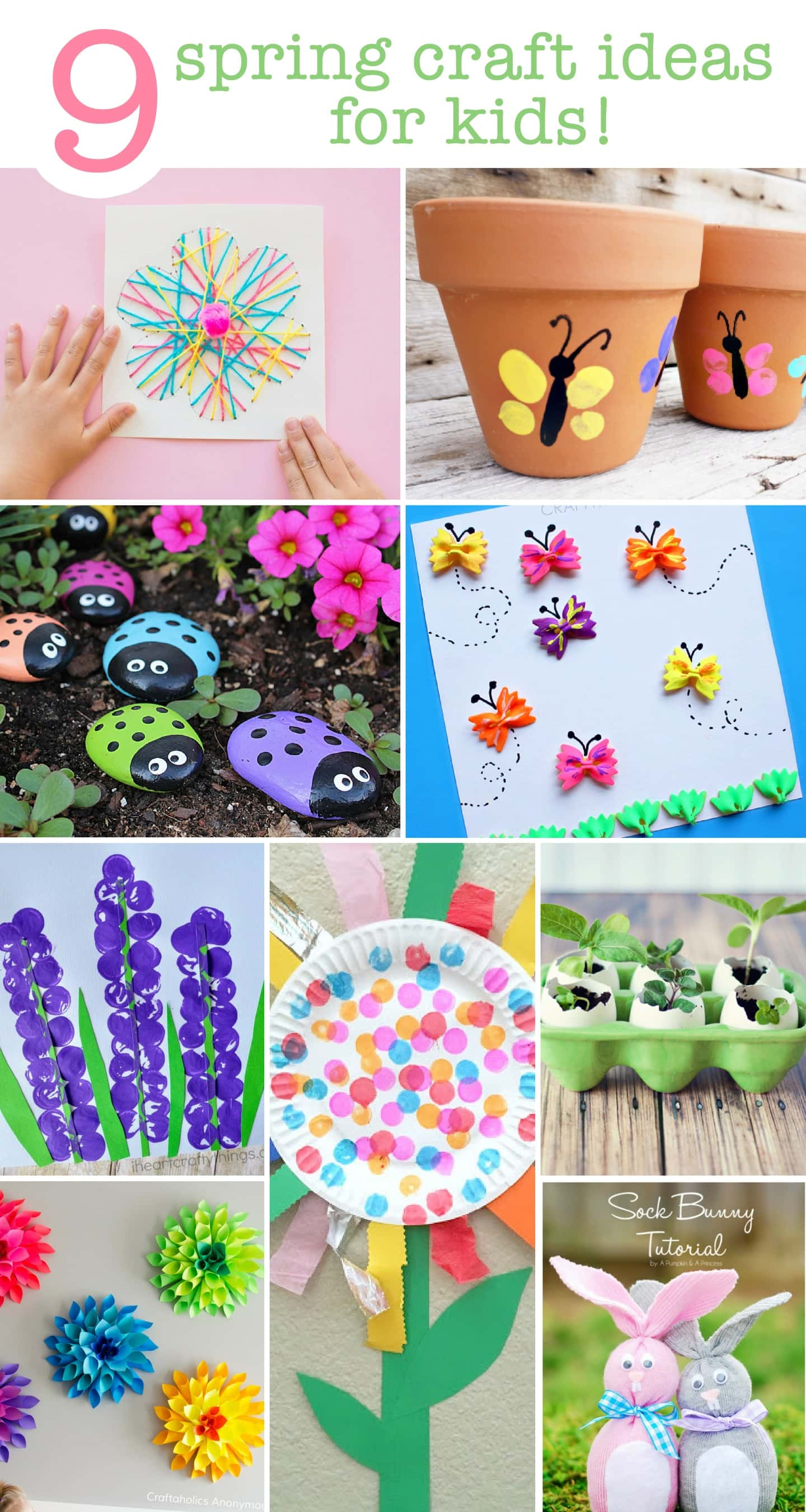 9 Spring Craft Ideas For The Kids