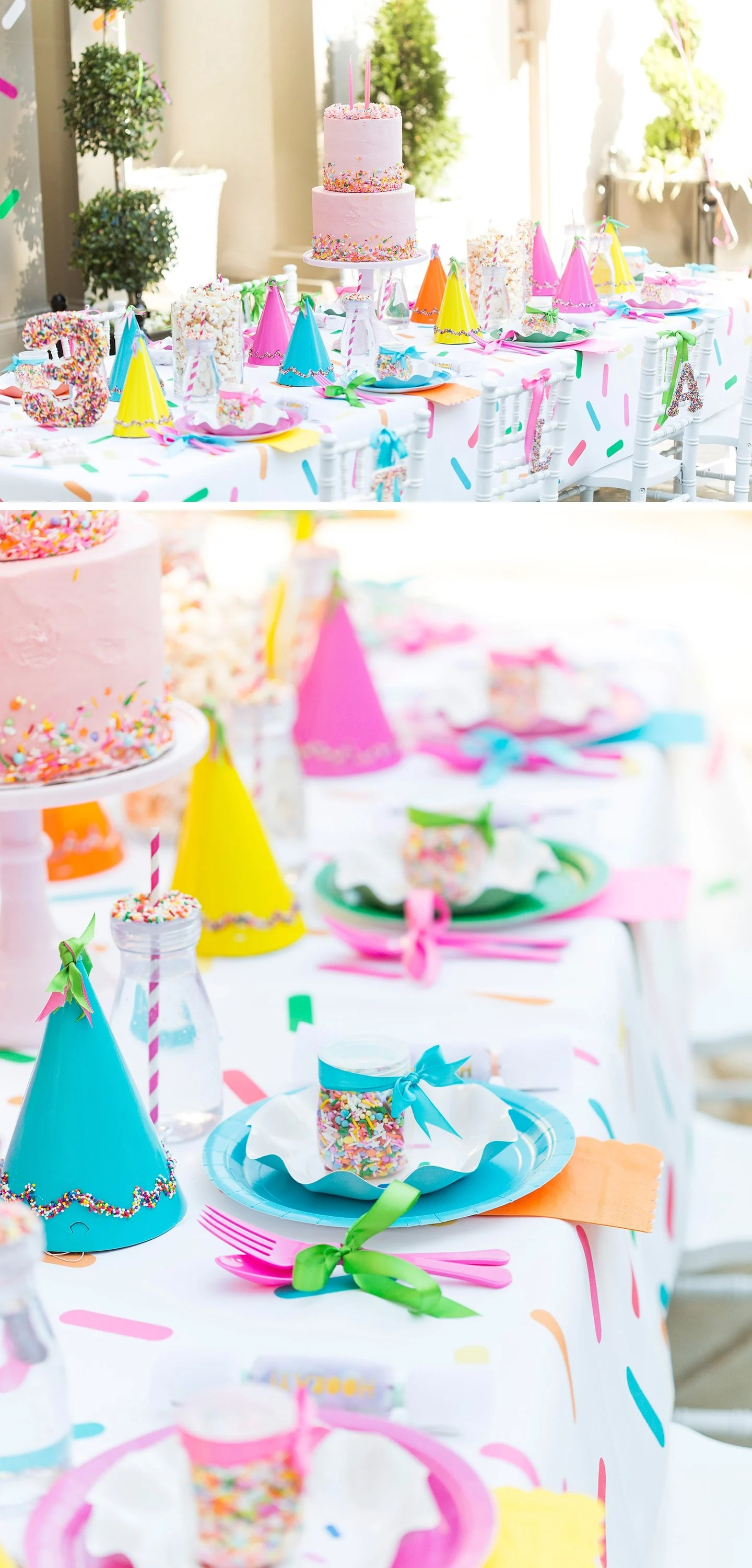 Hooray For A Sprinkle Party  Blakelys 3rd Birthday Party