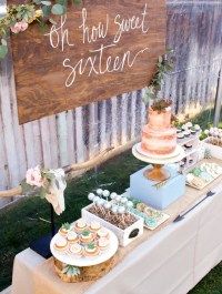 Sweet 16 Party Ideas   Decorations, Themes, & Lots More!