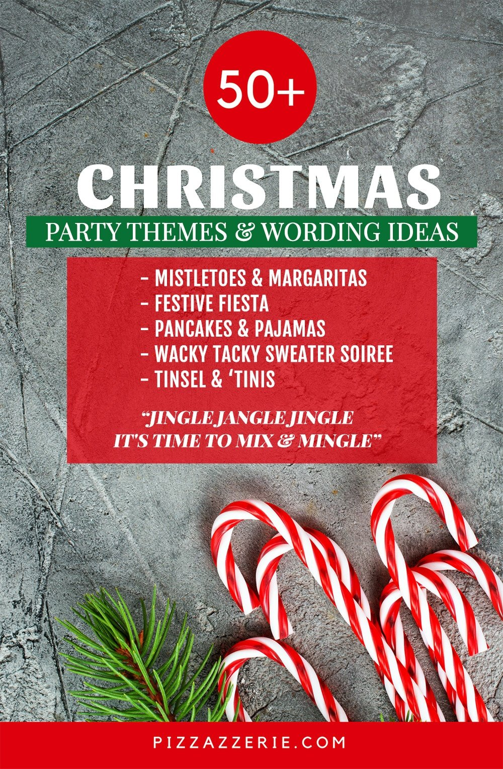 50 christmas party themes