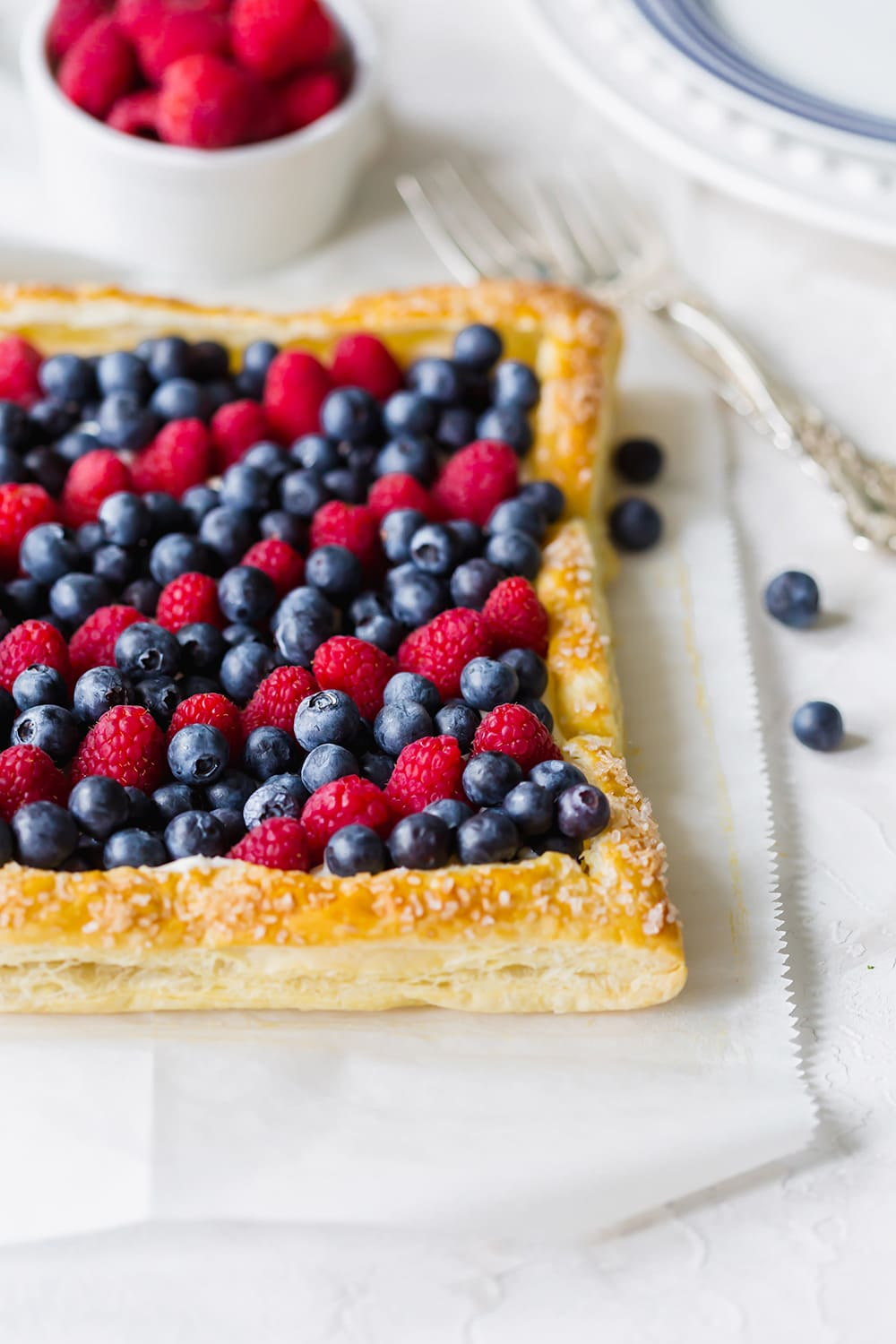 4th of July Berry Tart