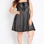plus sized, figure flattering, dresses