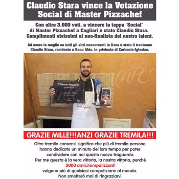 Claudio Stara Master Pizzachef