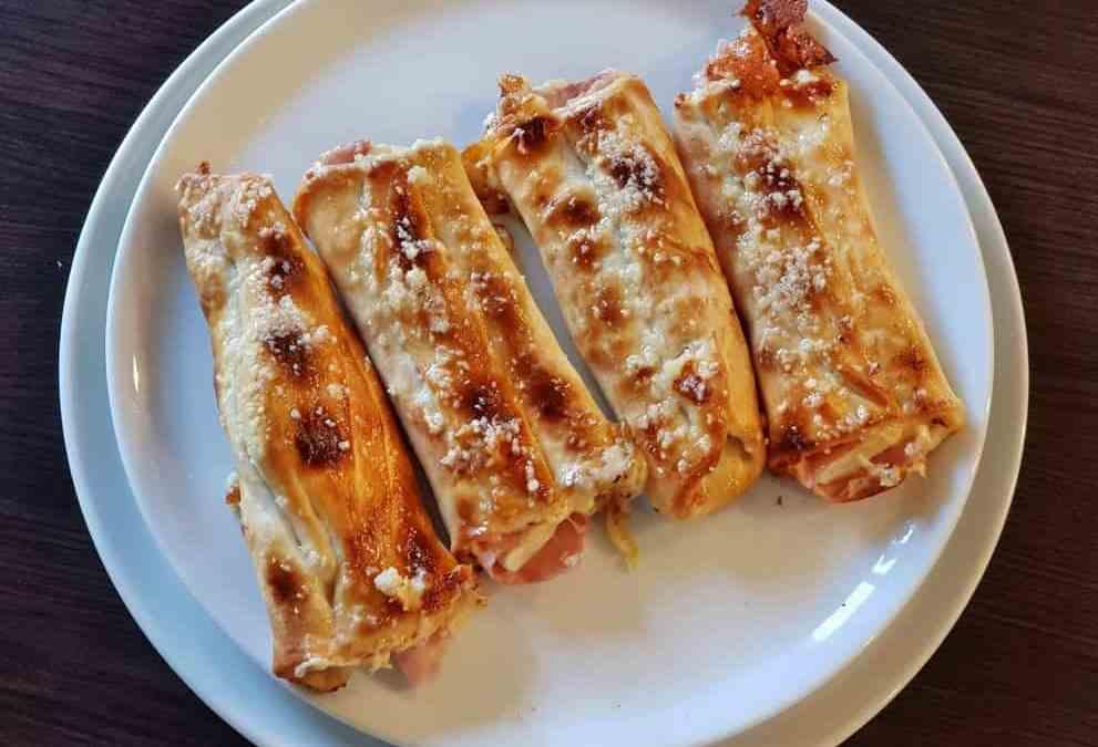 4. Pizza štangle plnené šunkou a syrom 4ks 380g