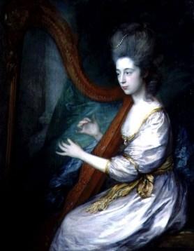Gainsborough, Thomas (1727-1788) - Portrait of Louisa, Lady Clarges, ca 1778