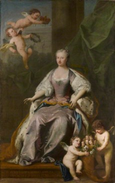 NPG 4332; Caroline Wilhelmina of Brandenburg-Ansbach by Jacopo Amigoni