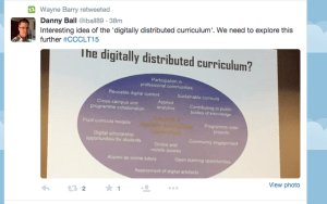 Digitally Distributed Curriculum