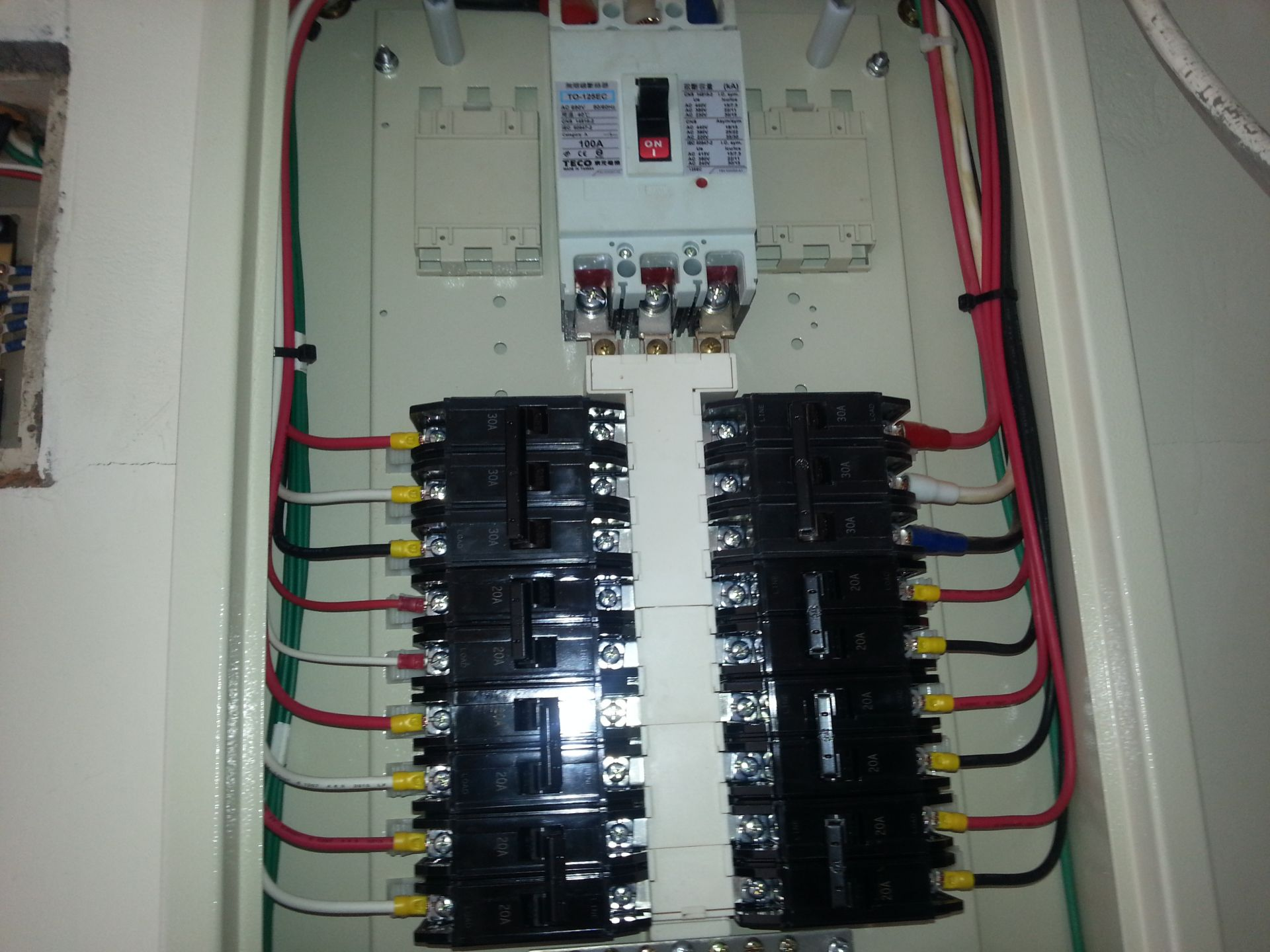 新設電力申請工程