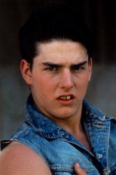Tom Cruise var ekki bara lítill, hann var líka með skakkar tennur...