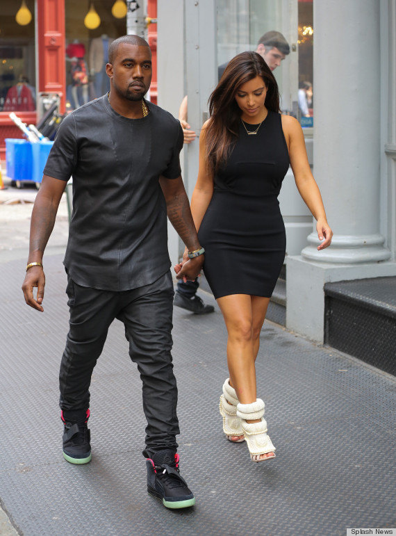 EXCLUSIVE: Kim Kardashian and Kanye West shopping in New York City