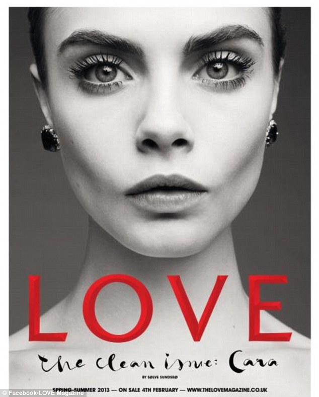 Á forsíðu Love 2013