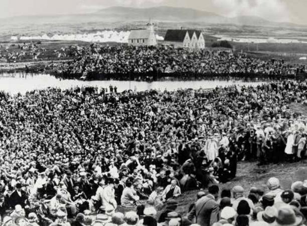 Árið 1944 náði samstaða okkar hámarki. Við vildum sjálfsstæði.