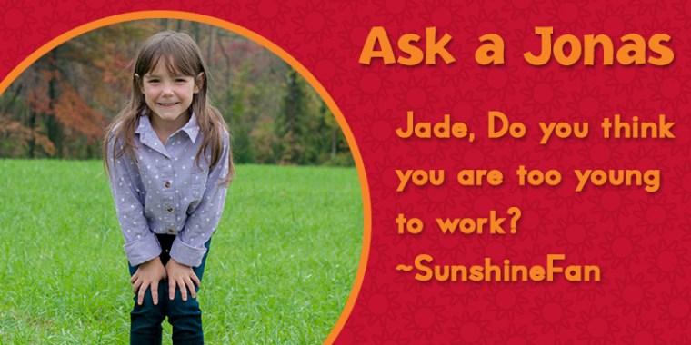 Ask a Jonas-jade working_blog