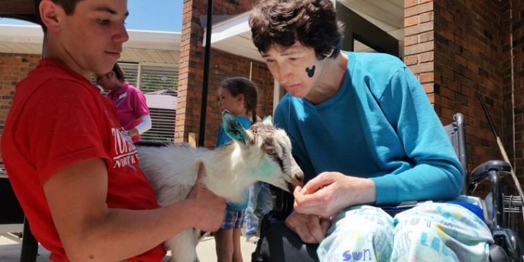 baby goats visiting the nursing home_blog_1