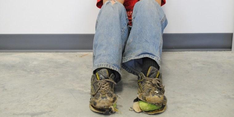hewitt's shoe falling apart 2_blog