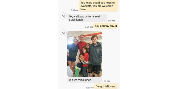 Surprise No Joke Text Message