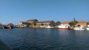 Heiligenhafen, Hafen, Hotel