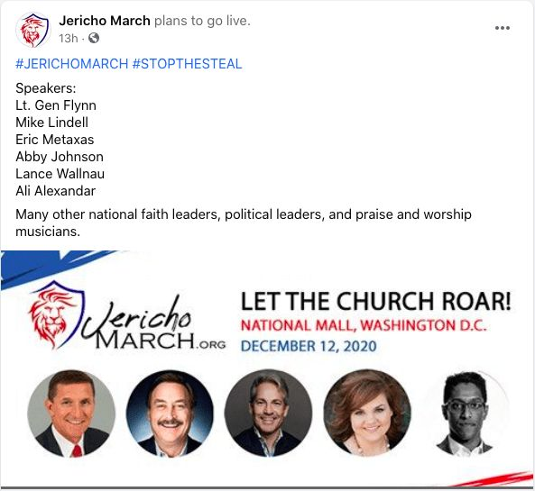 Jericho March Stop the Steal