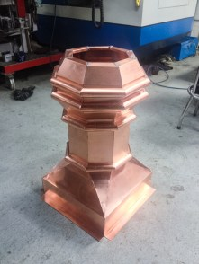 Red Copper - Eris Chimney Pot