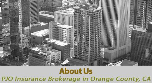 PJO Insurance Brokerage About Us in Orange County, California