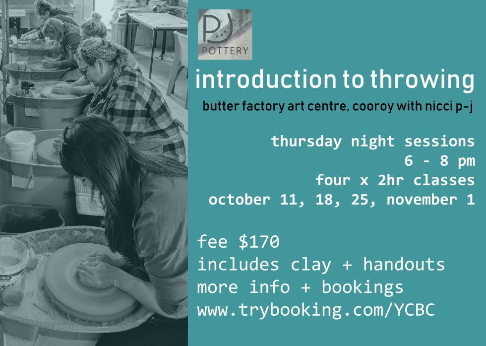 bfac Oct night intro to throwing poster