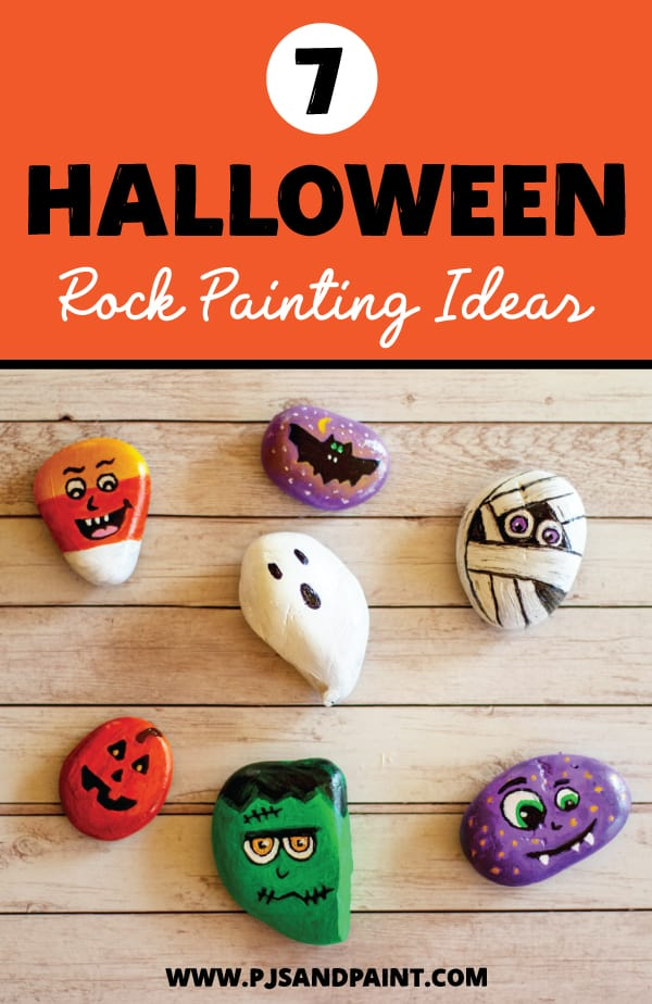 I want to use rigid styrofoam insulation panels to create walls for my haunted house. 7 Halloween Rock Painting Ideas Easy Halloween Crafts For Kids