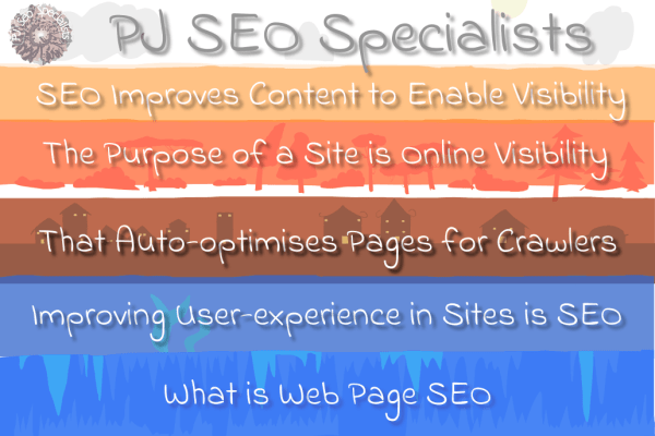 search engine optimization improves user-experience in websites