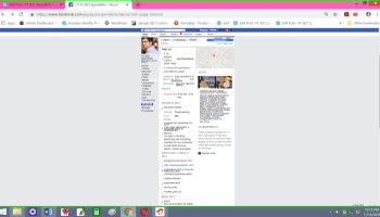 make a professional brand profile for a company on facebook business page