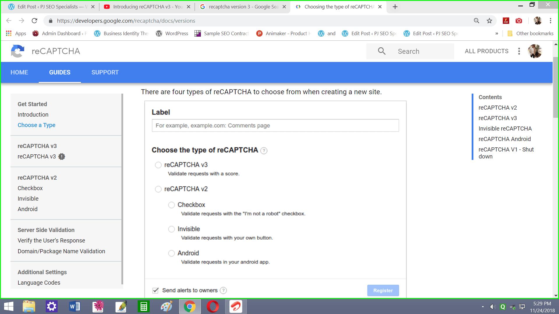 Google reCAPTCHA Version 3 Launched | Make A Secured Website