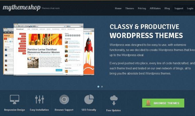 e-commerce ready mythemeshop wordpress templates with google fonts