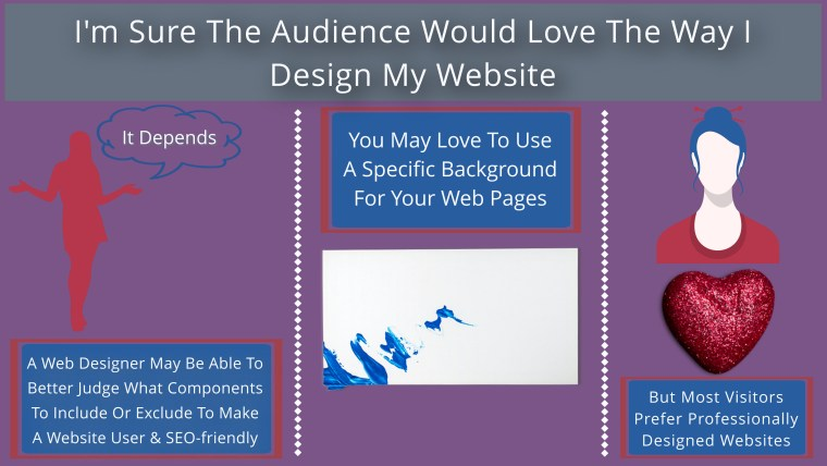 major fallacy in website promotion area around portal designing projects