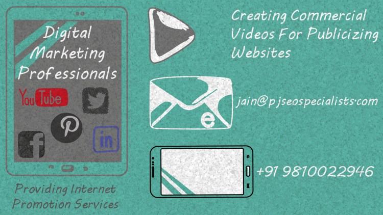 commercial videos and paid digital promotion helps in procuring online traffic