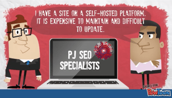 mechanical data backups and software updates are advantages in portal hosted websites