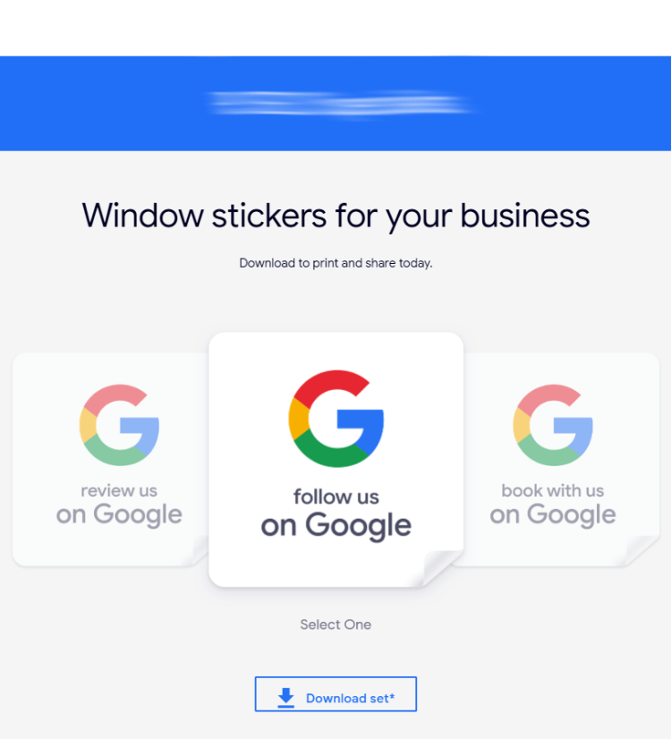 print-ready office window stickers by this local official publicity platform