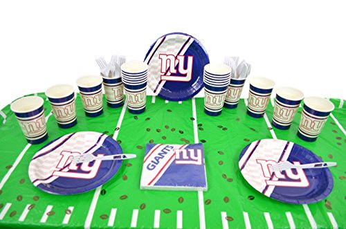 Official National Football Fan Shop Authentic NFL Tailgate Party Kit for 20 Fans (New York Giants)
